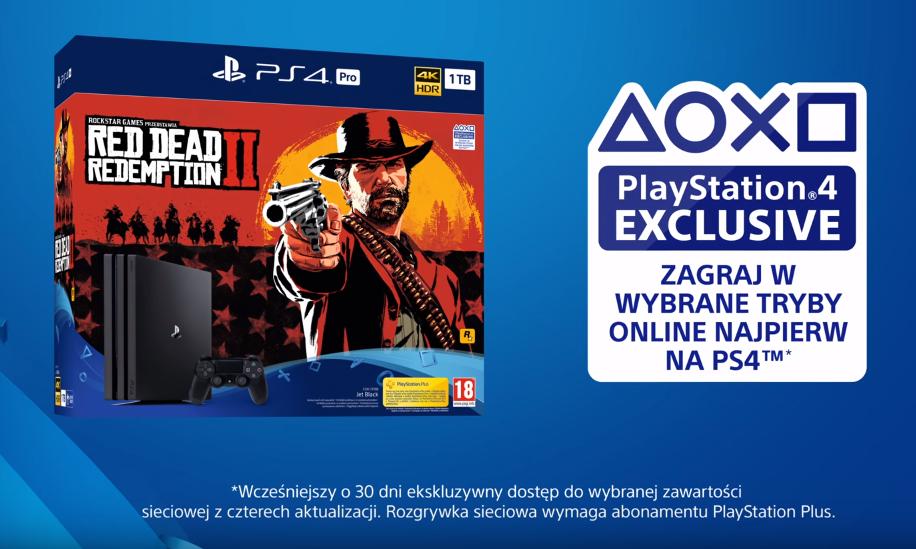 Zwiastun Rozgrywki RDR 2 na PlayStation 4
